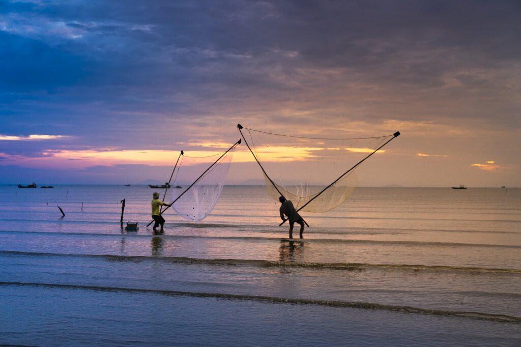 Fischer haben sicherlich eine romantische Ader