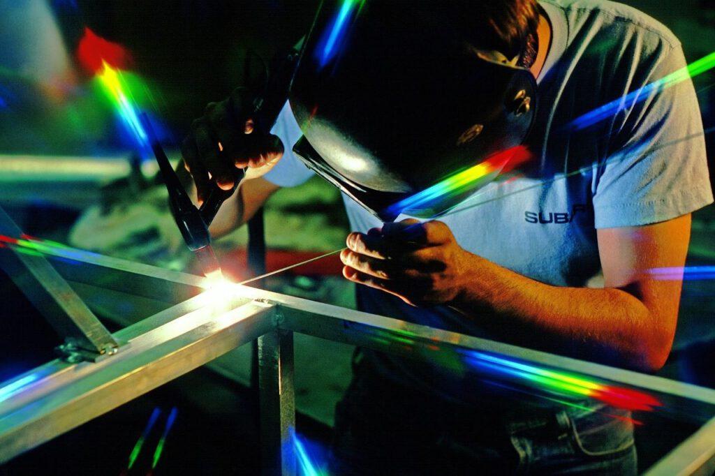Plasma bändigen als Metallbauer